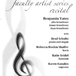 Faculty Artist Series Recital 2-01-2013
